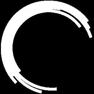 White rainbow icon